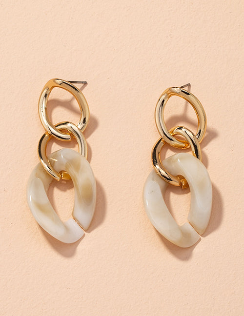 Crema Drop Earrings