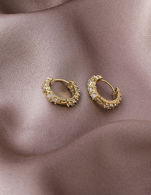 Carolina Earrings gold plated over copper
