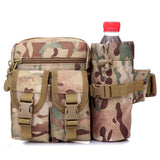 Outdoor Military Tactical Shoulder Bag Waterproof Oxford Molle Camping Hiking Pouch Kettle Bag bolsillo Waist Pack Bag 6 colors