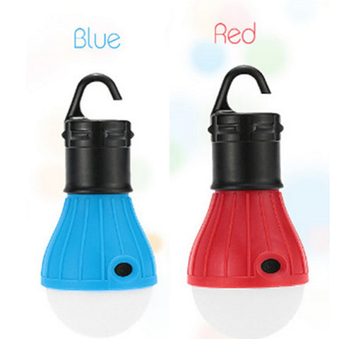 Portable camping equipment outdoor Hanging 3 LED Camping Lantern Soft Light LED Camp Lights Bulb Lamp For Camping Tent Fishing