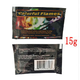 Magic Fire Colorful Flames multi tool кемпинг Camping equipment Powder Bonfire Sachets Magic Trick Hiking outdoor Survival поход