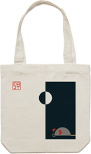 Load image into Gallery viewer, Half Moon Tote Bag