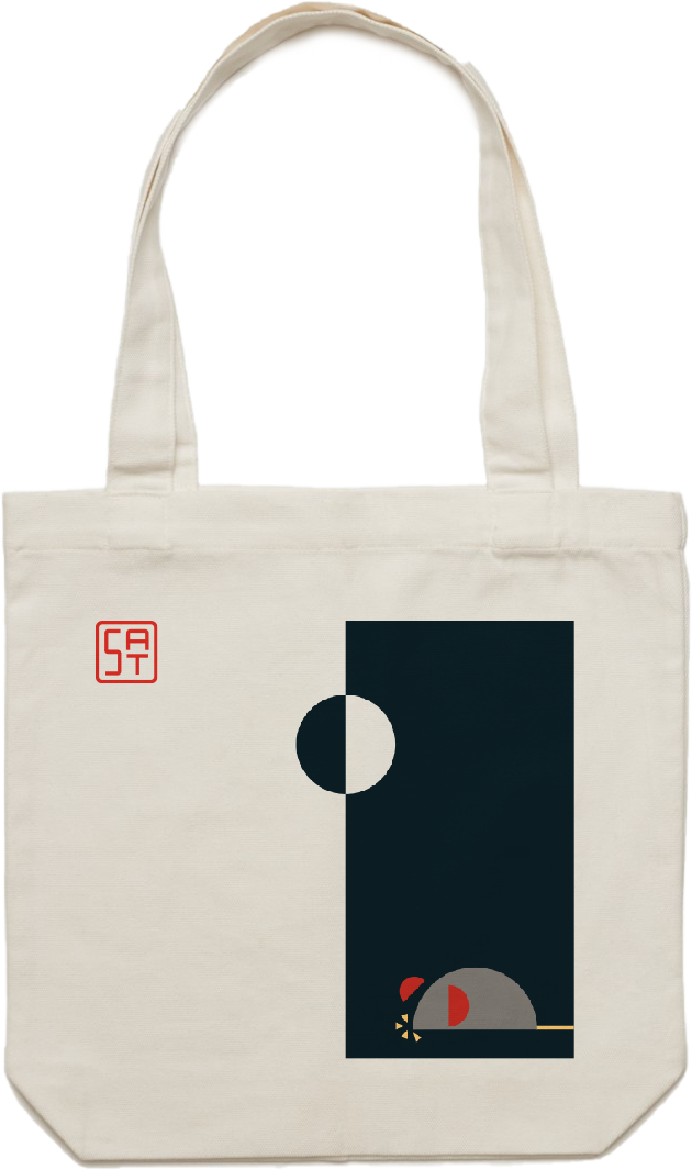 Half Moon Tote Bag