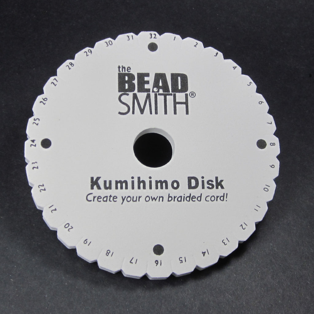 Kumihimo Braiding Disk, Round | High Tide Beads