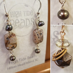 Basic Earrings And Pendants March 30, 2:30-5:30pm