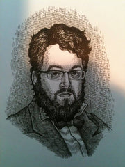 Tom Huck, pen and ink, July 2012
