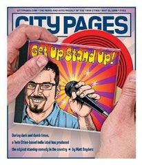 Ward Sutton, digital illustration, May, 2008, City Pages cover