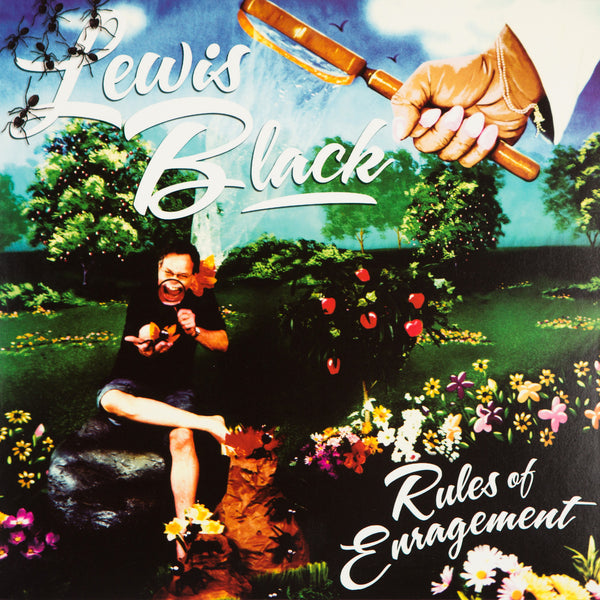 Lewis Black - Rules of Enragement (blue vinyl)