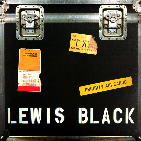 Lewis Black - Luther Burbank Performing Arts Center Blues (black vinyl)