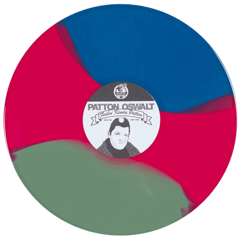 Patton Oswalt - Feelin' Kinda Patton (2nd pressing blue/red/green striped vinyl)