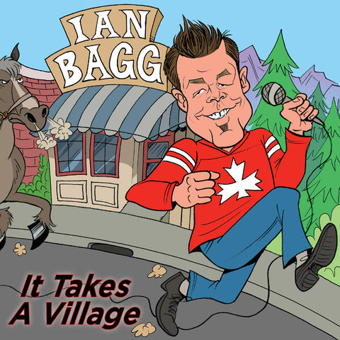 Ian Bagg - It Takes a Village (CD)