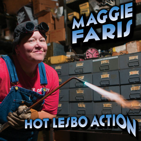 Maggie Faris - Hot Lesbo Action (CD)