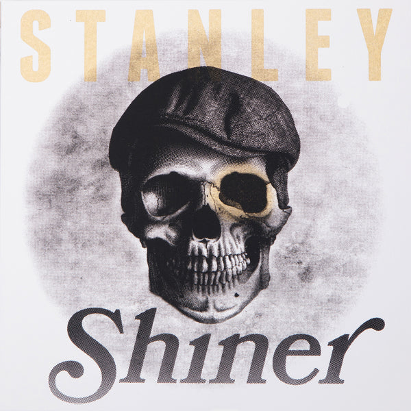 Mike Stanley - Shiner (art edition blue w/black splatter vinyl, ed of 150)