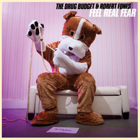 The Drug Budget and Robert Fones - Feel Real Fear (CD)