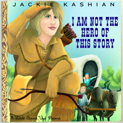 Jackie Kashian - I Am Not The Hero Of This Story (CD)