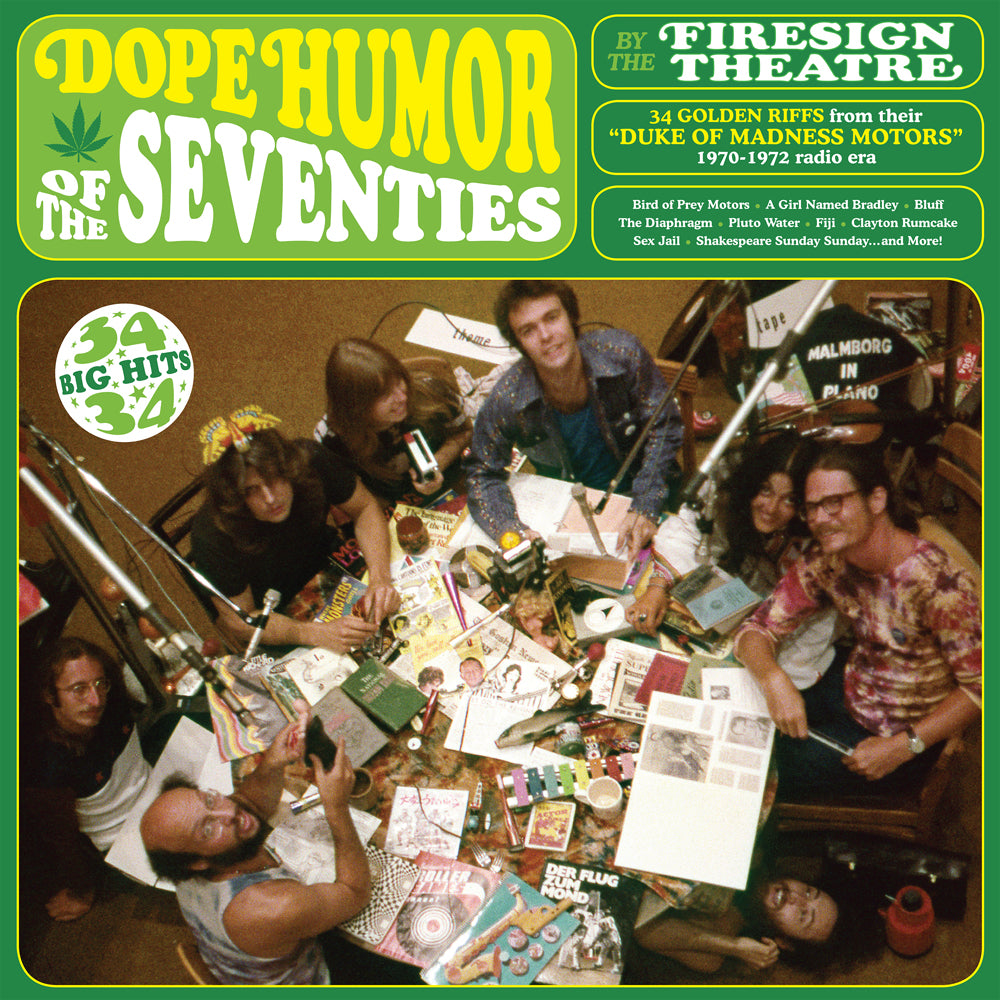 The Firesign Theatre - Dope Humor of the Seventies (double vinyl)