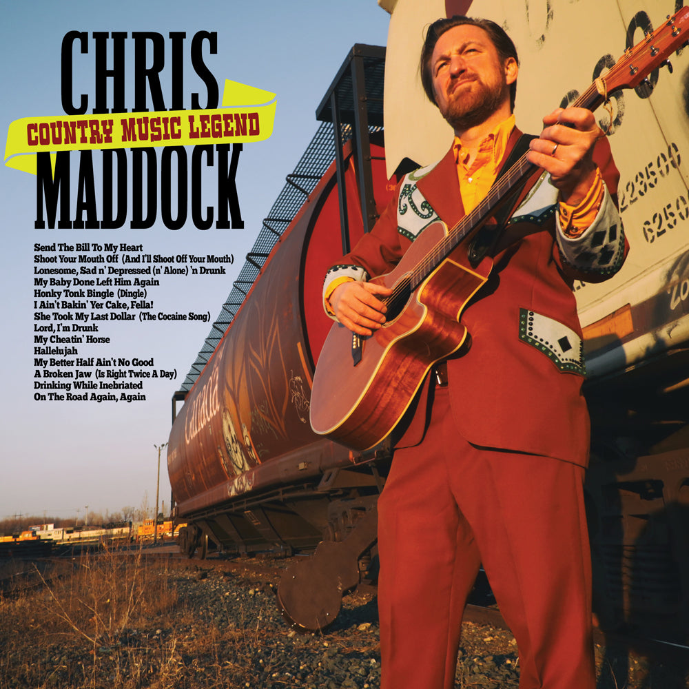 Chris Maddock - Country Music Legend (download)