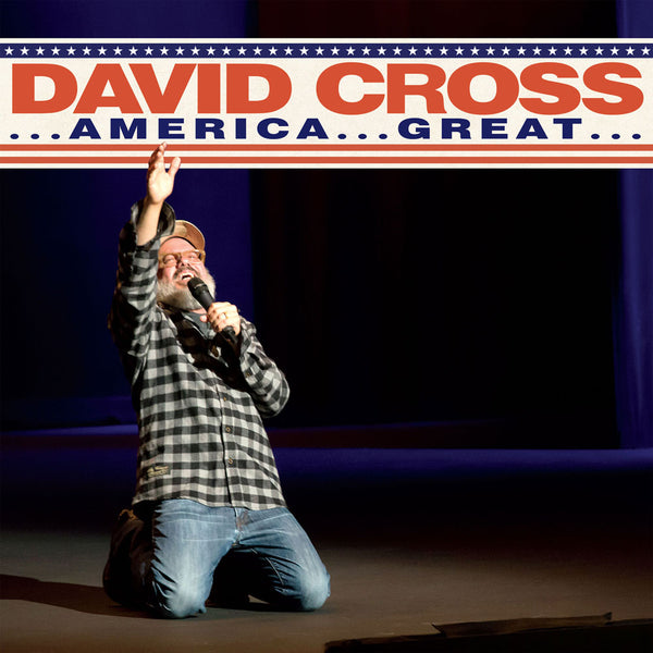David Cross - ...America...Great... (yellow / orange vinyl)