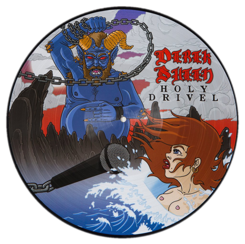 Derek Sheen - Holy Drivel (vinyl - picture disc original art)