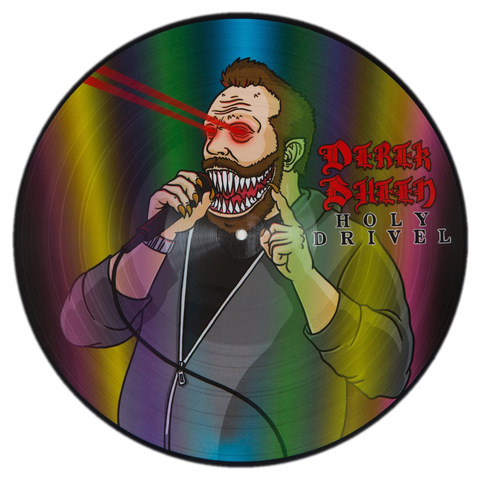 Derek Sheen - Holy Drivel (vinyl - picture disc alternate art)