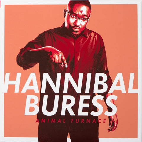 Hannibal Buress - Animal Furnace (art edition tri-color vinyl)