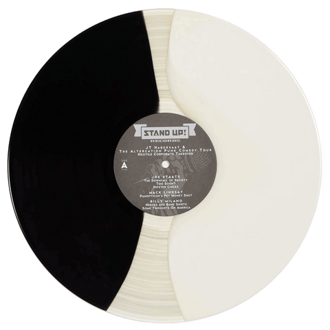JT Habersaat - Hostile Corporate Takeover (black/clear/white striped vinyl)