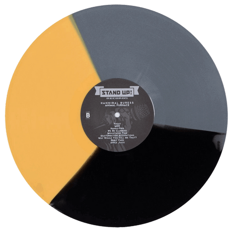 Hannibal Buress - Animal Furnace (black/mustard/silver tri-color vinyl)