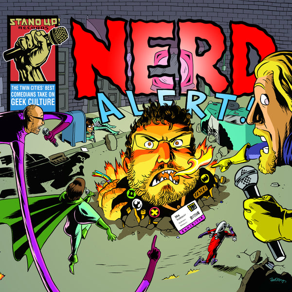 Various Artists - Nerd Alert! (double vinyl)