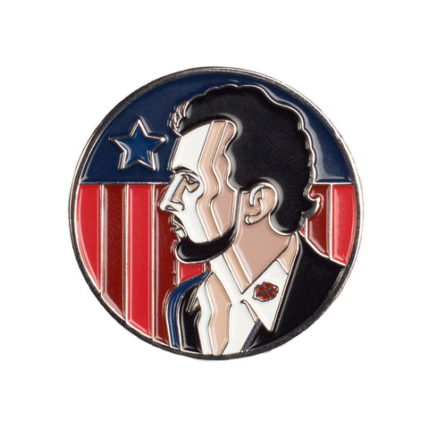 Robert Baril - Sex & Politics Pin