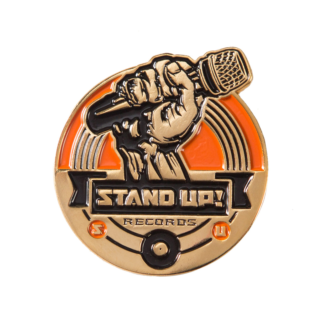 Stand Up! Records Logo Pin