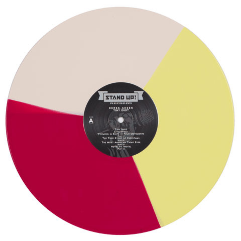 Derek Sheen - Tiny Idiot (tri-color vinyl)