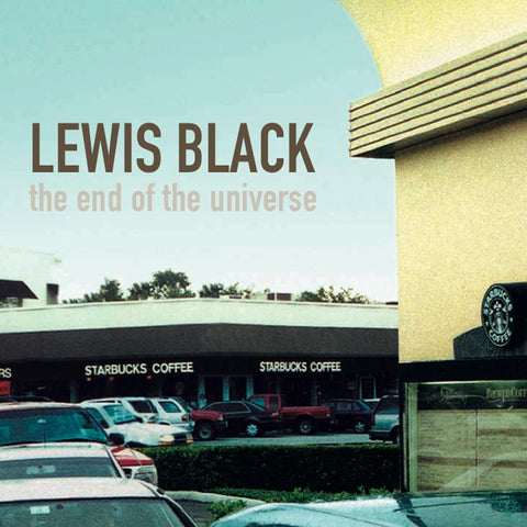 Lewis Black - The End Of The Universe (CD)