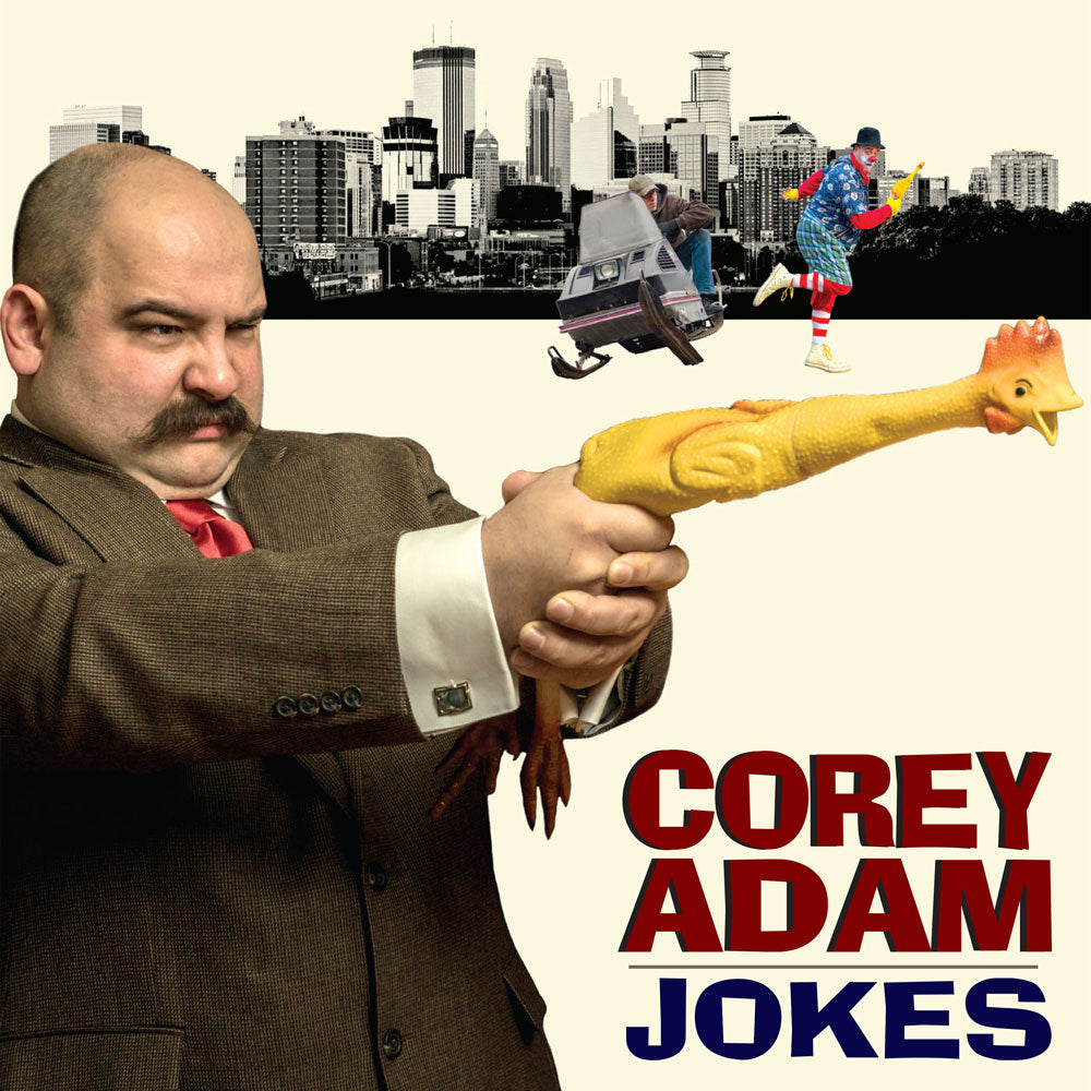 Corey Adam - Jokes (CD)