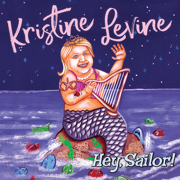 Kristine Levine - Hey, Sailor! (CD + cap)