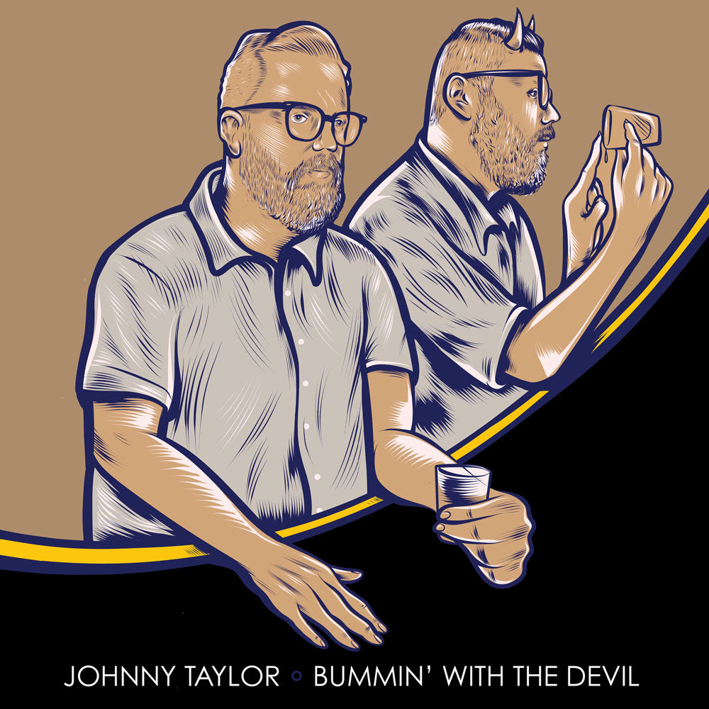 Johnny Taylor - Bummin' With The Devil (CD&DVD)