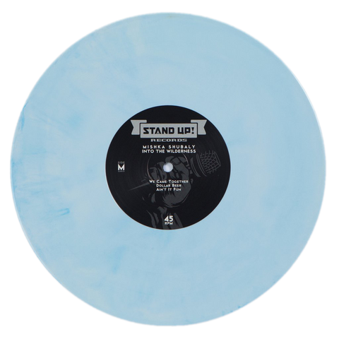 Mishka Shubaly vs. JT Habersaat - Into the Wilderness (white with cyan smoke vinyl)