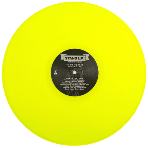 Chris Porter - Lost And Alone (2nd pressing highlighter yellow vinyl)