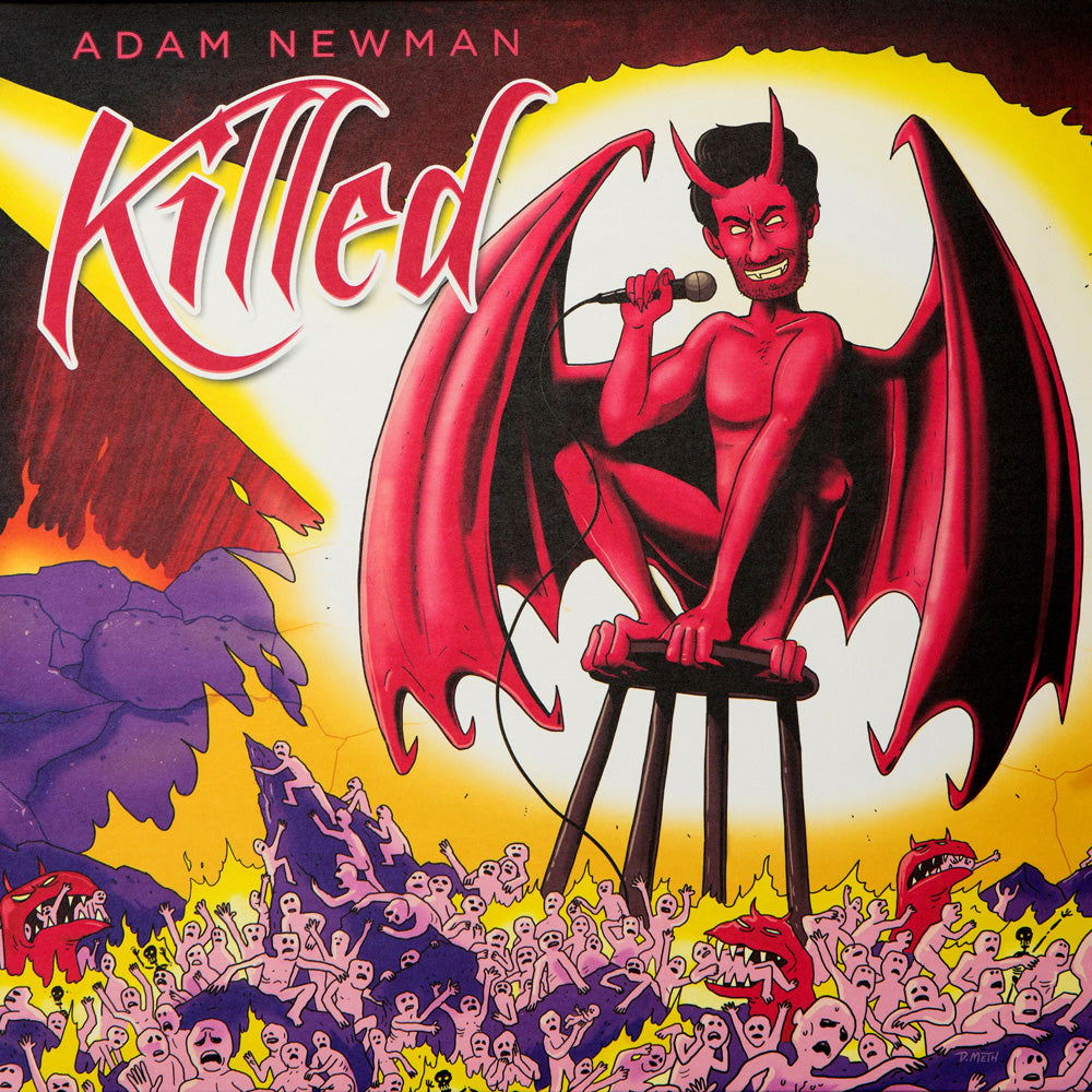 Adam Newman - Killed (red vinyl)