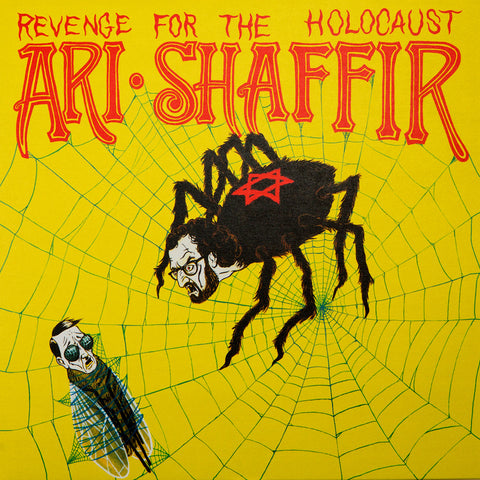 Ari Shaffir - Revenge for the Holocaust (yellow w/black splatter vinyl)