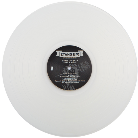 Chris Porter - Lost And Alone (1st pressing milky clear vinyl)