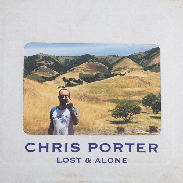 Chris Porter - Lost And Alone (1st pressing bong smoke vinyl)