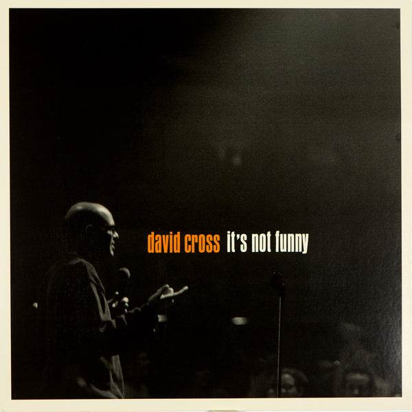 David Cross - It's Not Funny (black vinyl)