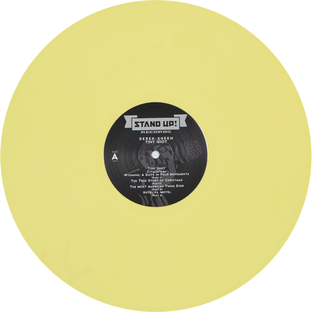 Derek Sheen - Tiny Idiot (yellow vinyl)