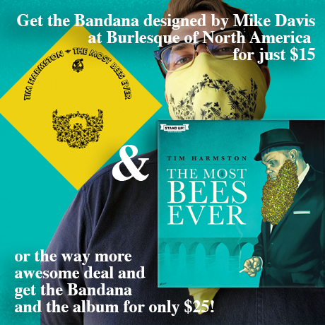 Tim Harmston - The Most Bees Ever (CD + bandana)