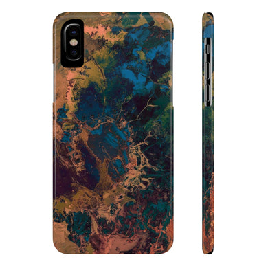 Chaos Case Mate Slim Phone Cases - Earth