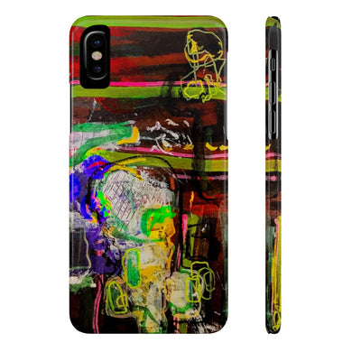 Brainiac Case Mate Slim Phone Cases