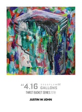 "Load image into Gallery viewer, ""4.16 Overflow Gallons"" Soft Touch Postcard"