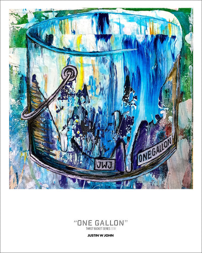 """One Gallon"" Digital Print Trial Proof"