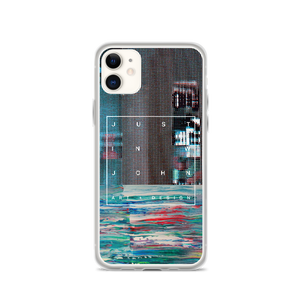 GLITCH THE SYSTEM 2.0 iPhone Case