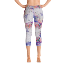 Load image into Gallery viewer, Abstraction All-Over-Print Capri Leggings